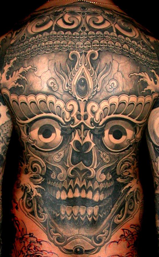 52 tibetan skull tattoos ideas