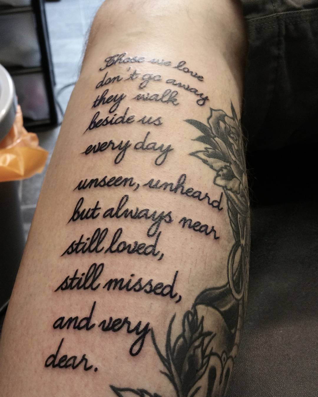 17+ Poem Tattoos On Arm