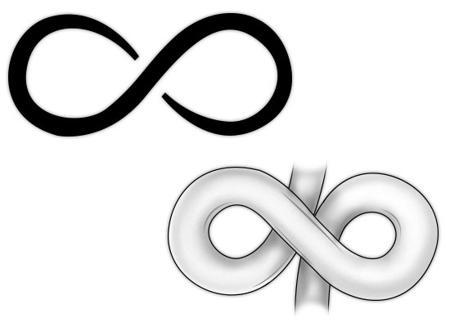 55 Infinity Symbol Tattoo Designs