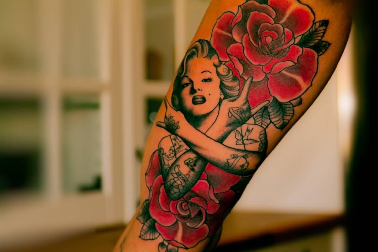 46+ Fantastic Marilyn Monroe Tattoos