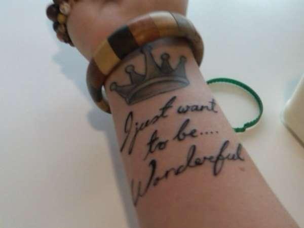 25+ Marilyn Monroe Quote Tattoos