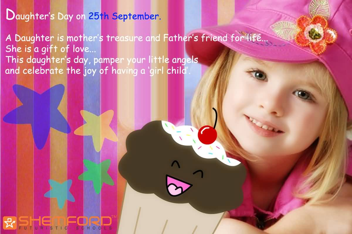 55 most beautiful daughters day wish pictures and images daughters day on 25th september kristyandbryce Images