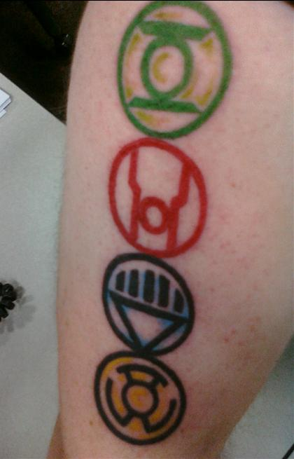 Evil Jack O Lantern Tattoo