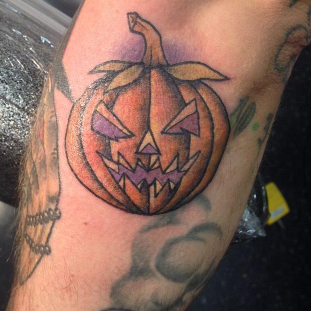 Evil Pumpkin Ja... Evil Jack O Lantern Tattoo