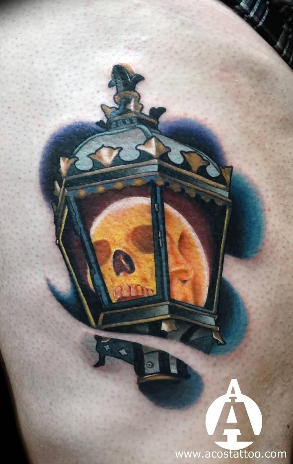 22 Best Lantern Tattoos