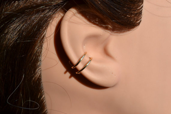 hoop earrings for cartilage piercings silver hoop ring cartilage piercing 2488