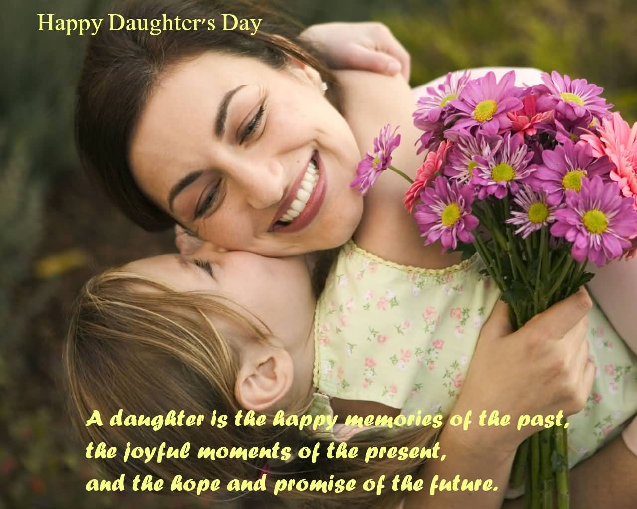 55 most beautiful daughters day wish pictures and images happy daughters day a daughter is the happy memories of the past kristyandbryce Images