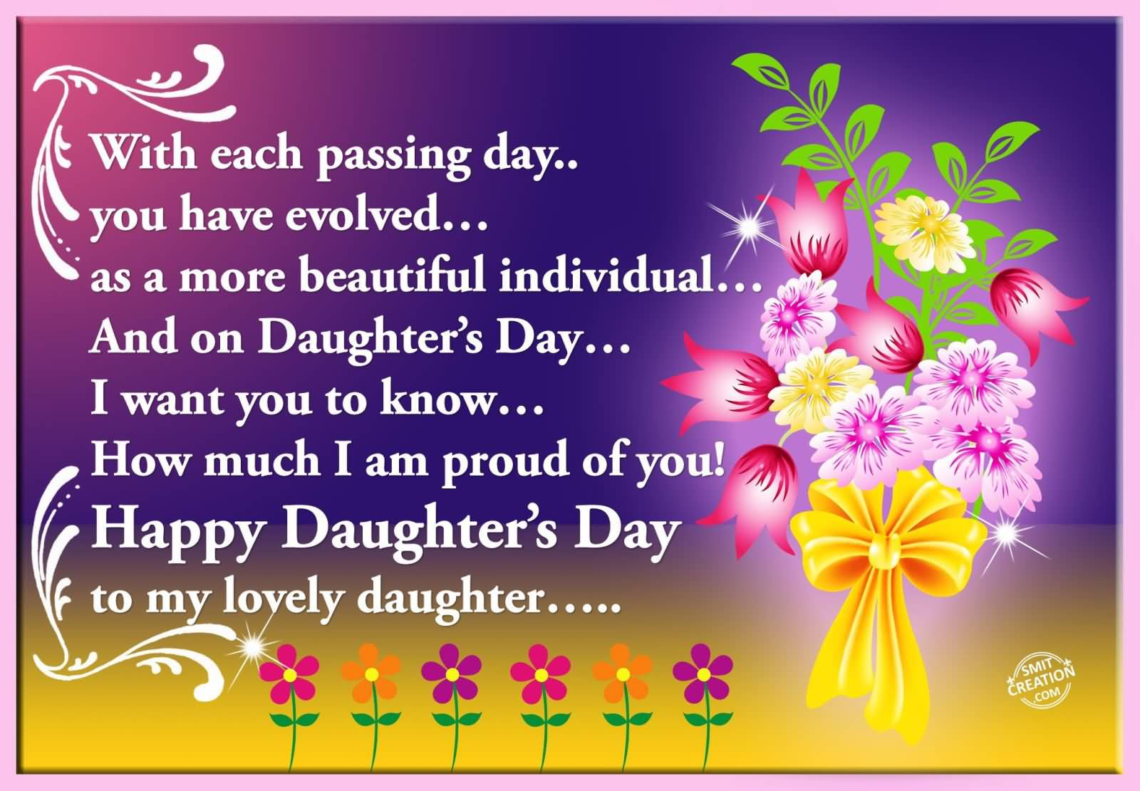 55 most beautiful daughters day wish pictures and images happy daughters day to my lovely daughter kristyandbryce Images