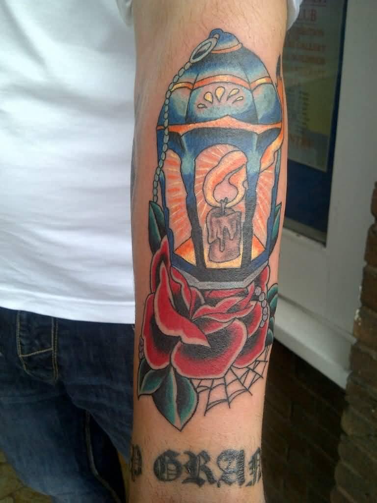 40+ Traditional Lantern Tattoos