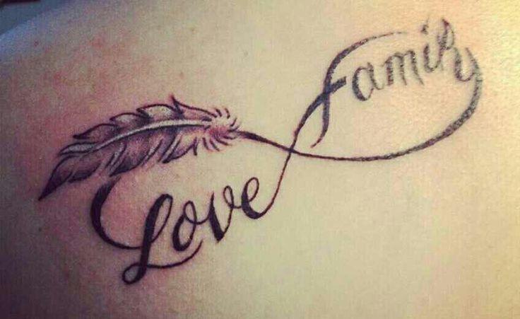 35 family infinity symbol tattoos. Black Bedroom Furniture Sets. Home Design Ideas