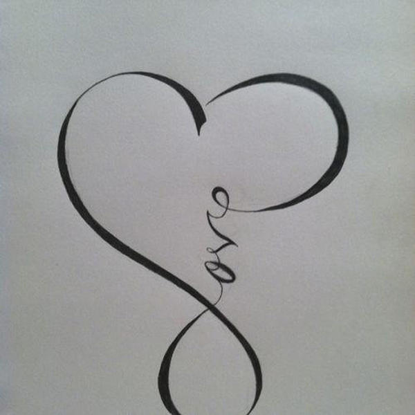 55+ Infinity Symbol Tattoo Designs