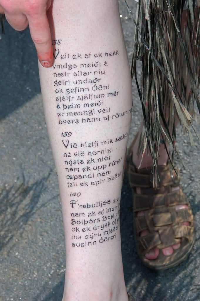 12e707c9290fa 40+ Nice Poem Tattoos Ideas