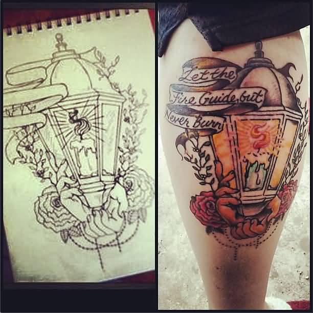 52+ Lantern Tattoos Designs