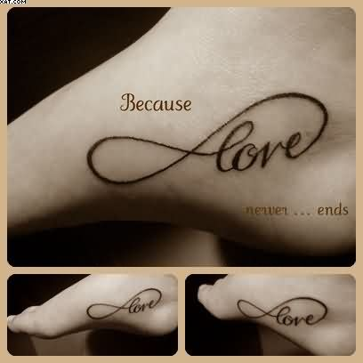 22 Love Infinity Symbol Tattoos