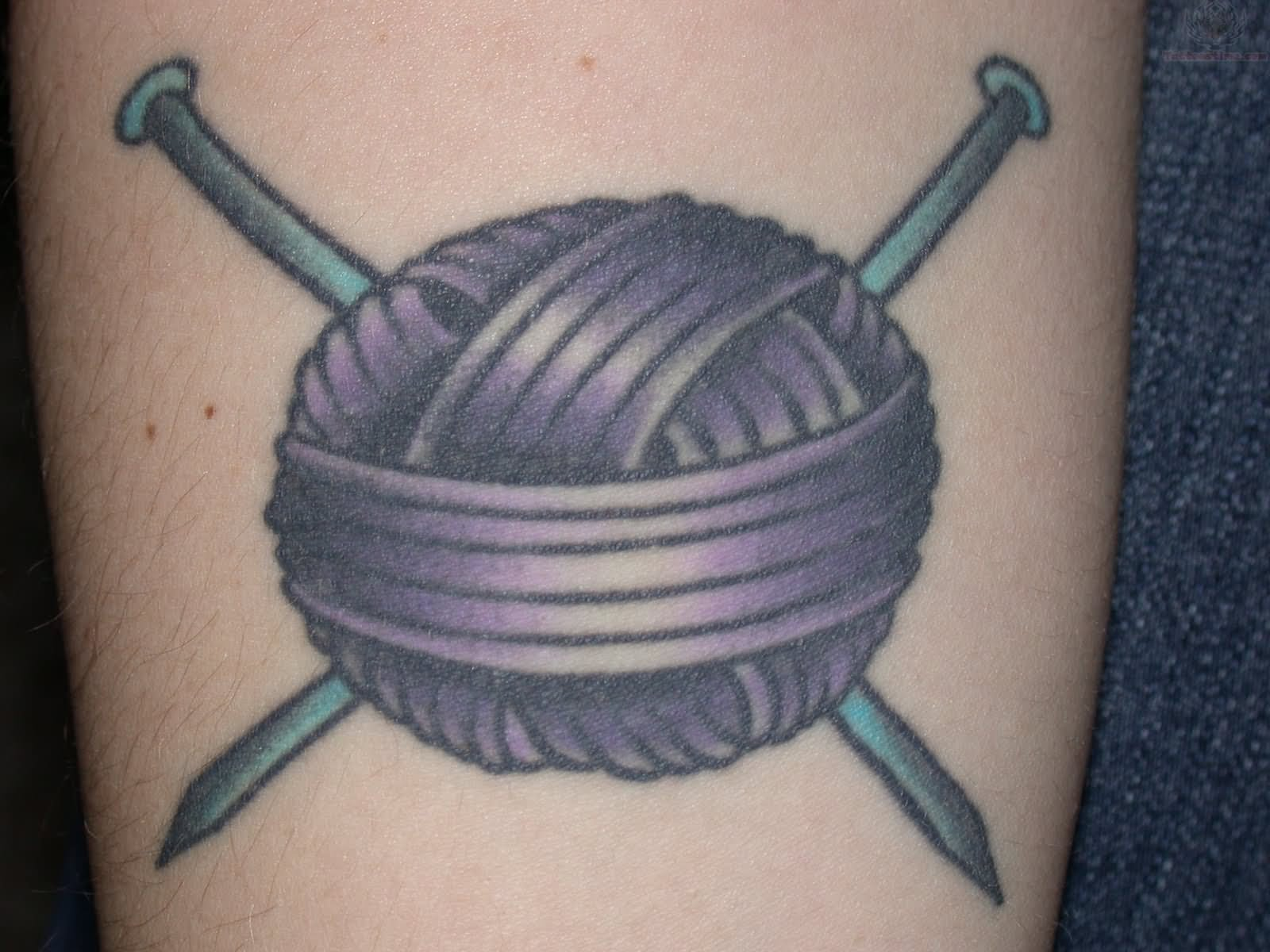 Knitting Needle Tattoo : Knitting tattoo designs