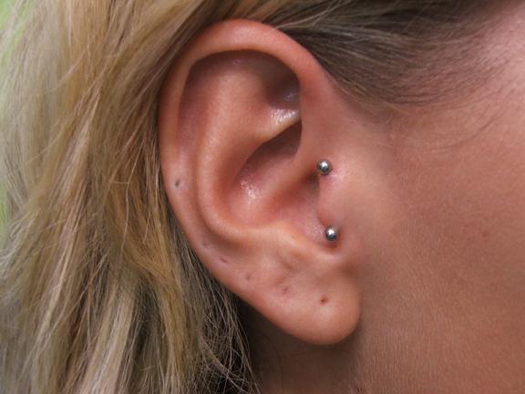 25+ Tragus Piercing For Girls Ear Piercings Anti Tragus