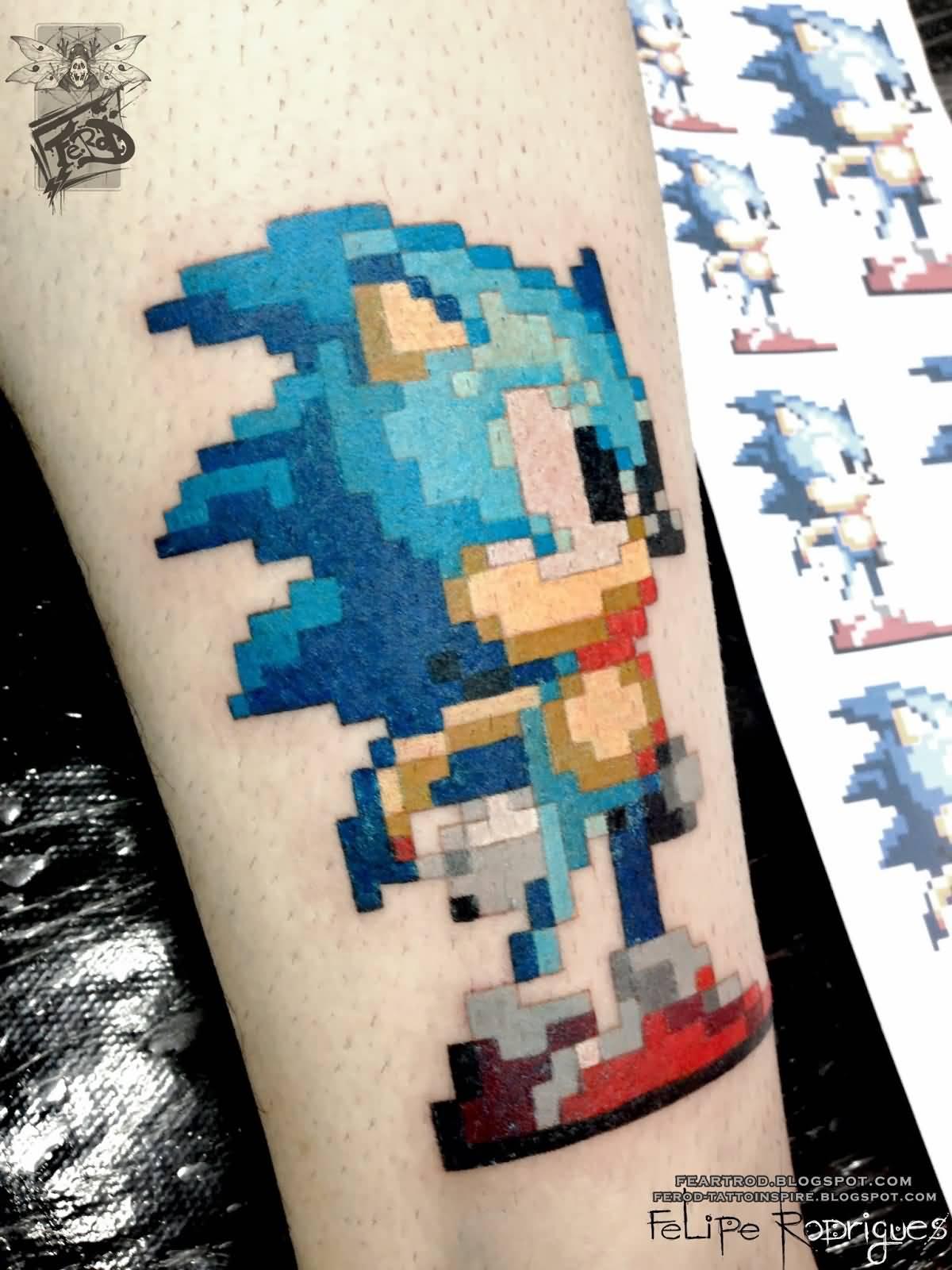 65 Incredible Sonic Tattoos