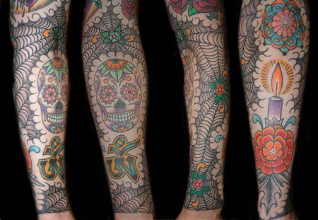 39 old school tattoos on sleeve. Black Bedroom Furniture Sets. Home Design Ideas
