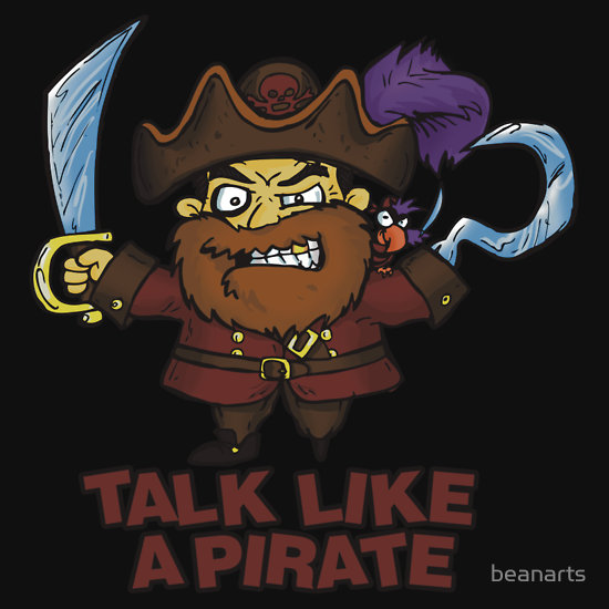 how to talk like a pirate day