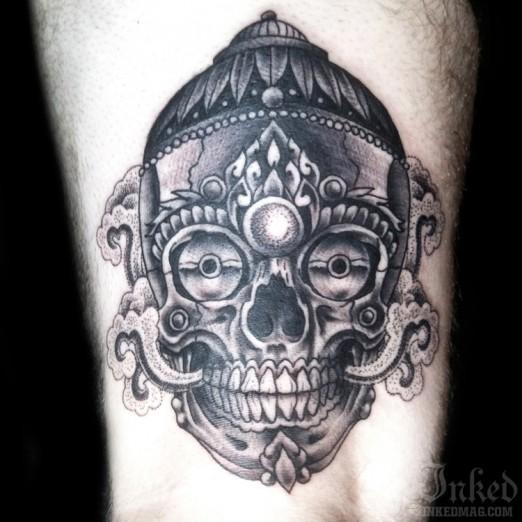 52+ Tibetan Skull Tattoos Ideas