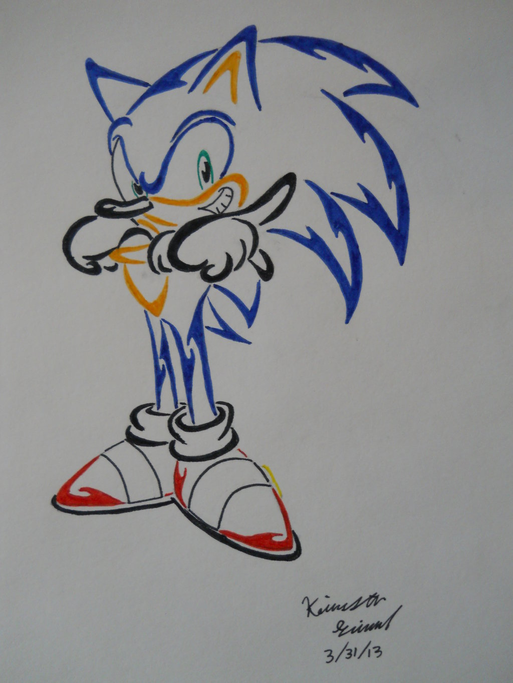 15 Sonic Tattoo Designs