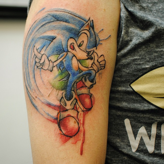 65 Incredible Sonic Tattoos