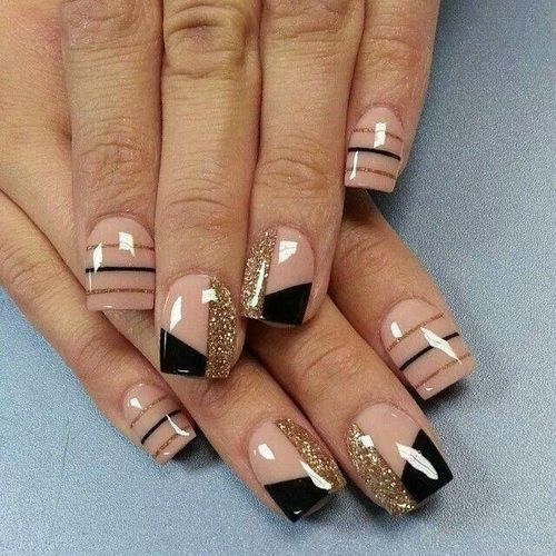 50 Stylish Acrylic Short Nail Design Ideas