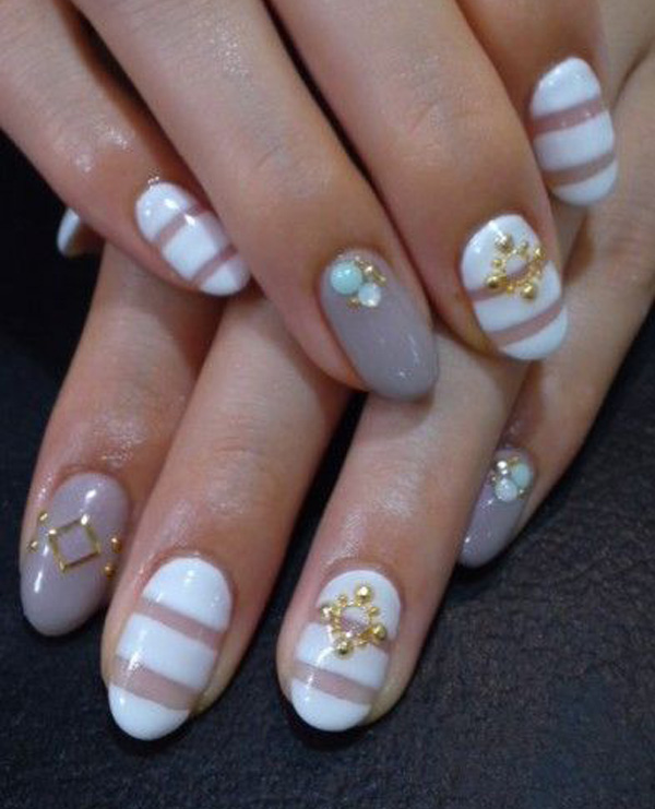 50+ Stylish Acrylic Short Nail Design Ideas