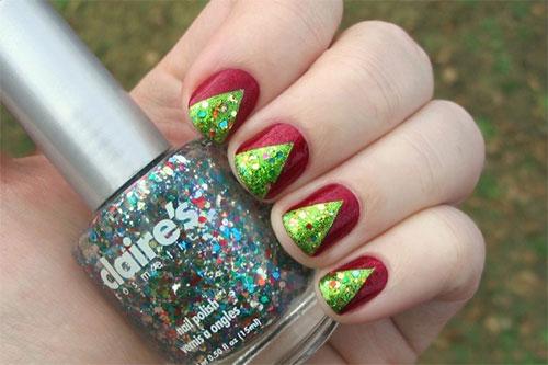 Cool Christmas Nail Designs For Short Nails