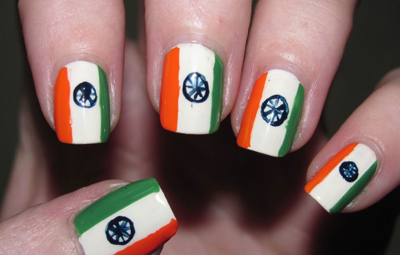 Flag Design Ideas flag tattoos for women google search Amazing Indian Flag Nail Art