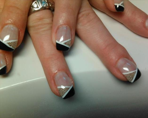 50 Most Stylish Short Nail Art Design Ideas