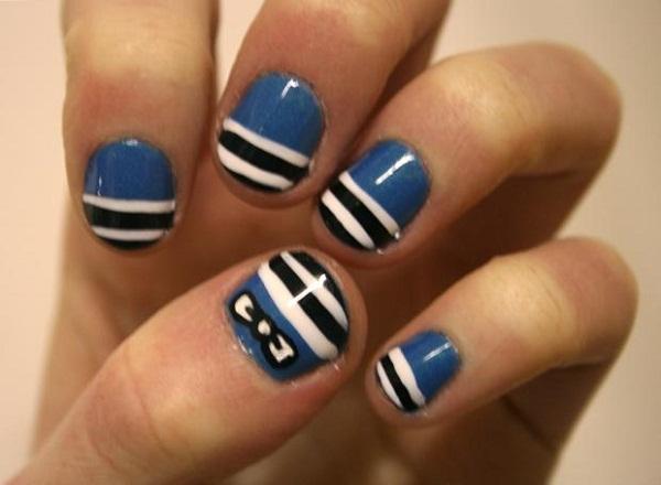 55 Classy White Short Nail Art Designs