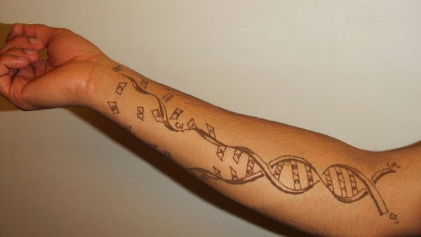25+ Biology Science Tattoos