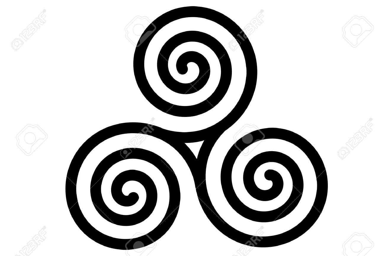30 spiral tattoo designs celtic triple spiral tattoo design buycottarizona