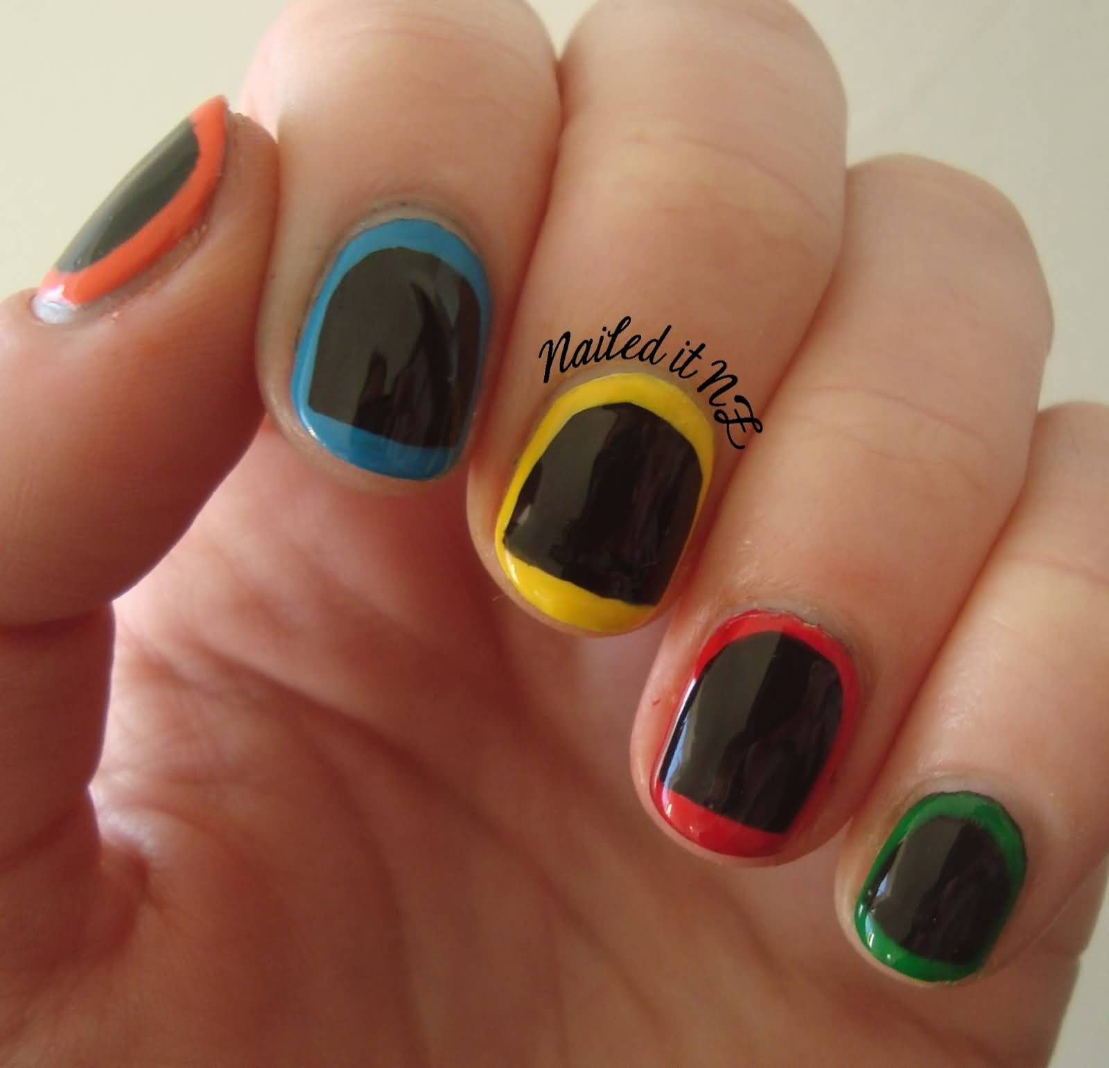 Ideas For Short Nails Easy Nail Art: 40 Elegant Short Nail Art Design Ideas