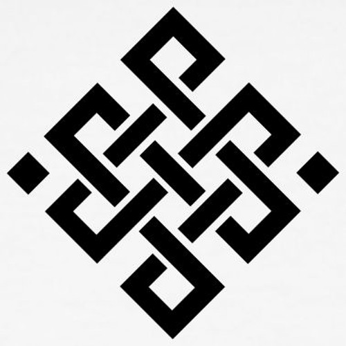 cool black and white designs.  White Cool Black Endless Knot Tattoo Design On And White Designs