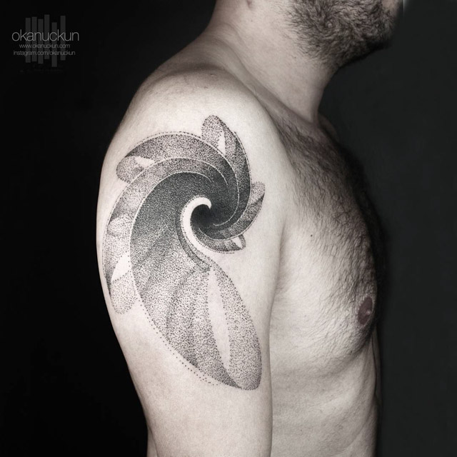 40 Spiral Tattoos On Arm