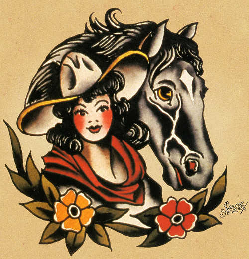 22 traditional western tattoos for Horse tattoo traditional
