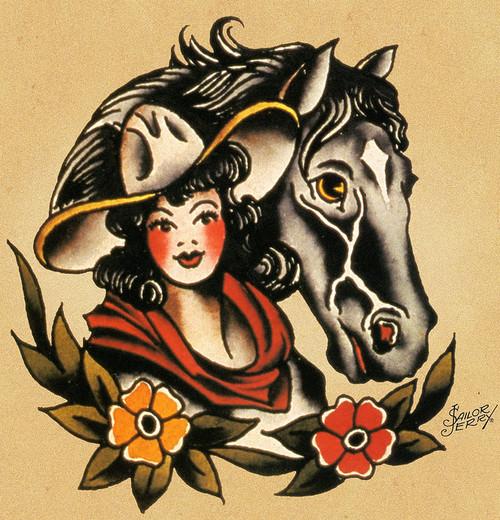 22 traditional western tattoos. Black Bedroom Furniture Sets. Home Design Ideas