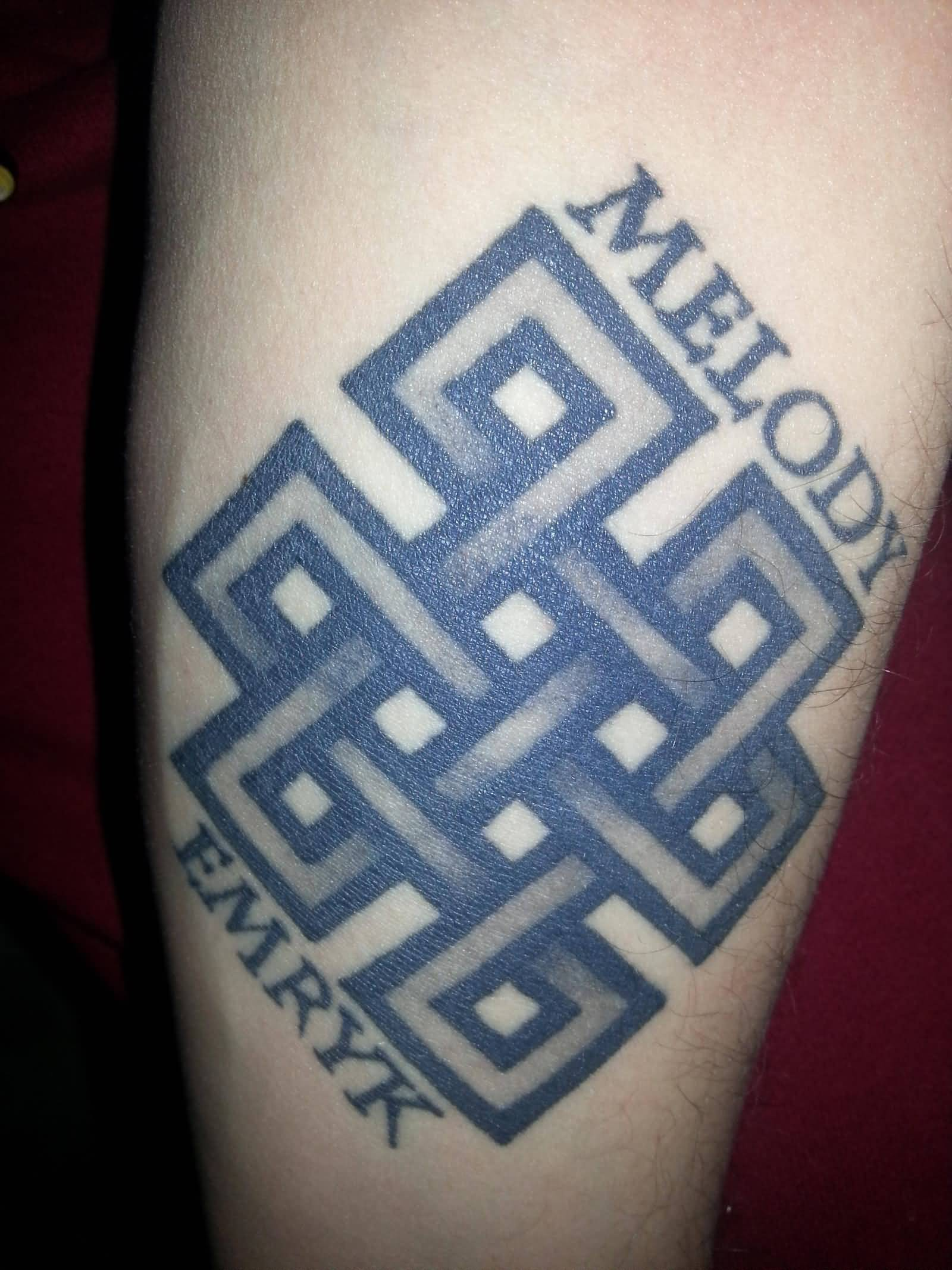 26 Endless Knot Tattoo Designs