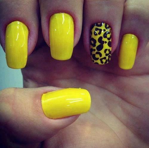 55 Latest Yellow Nail Art Designs