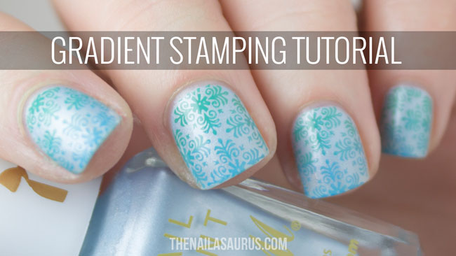 Gradient Stamping Nail Art With Tutorial Video