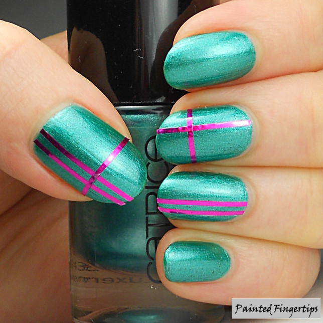 With Striping Tape Nail Art Ideas: 21 Most Beautiful Striping Tape Nail Art Ideas For Trendy