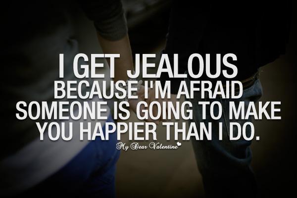 how to stop feeling jealous of your boyfriend