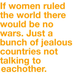 if girls ruled the world