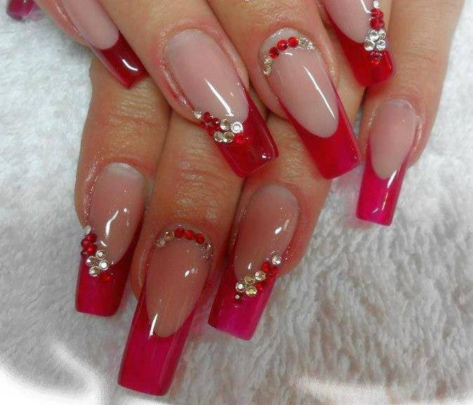 Nail art ideas red – Great photo blog about manicure 2017