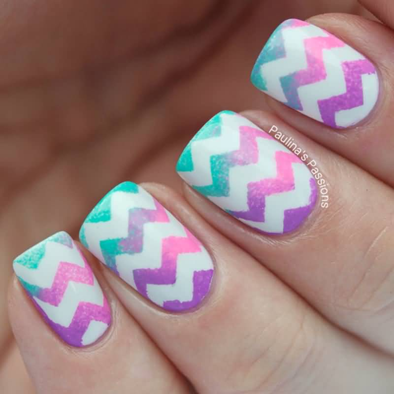 55+ Most Stylish Gradient Nail Art Ideas