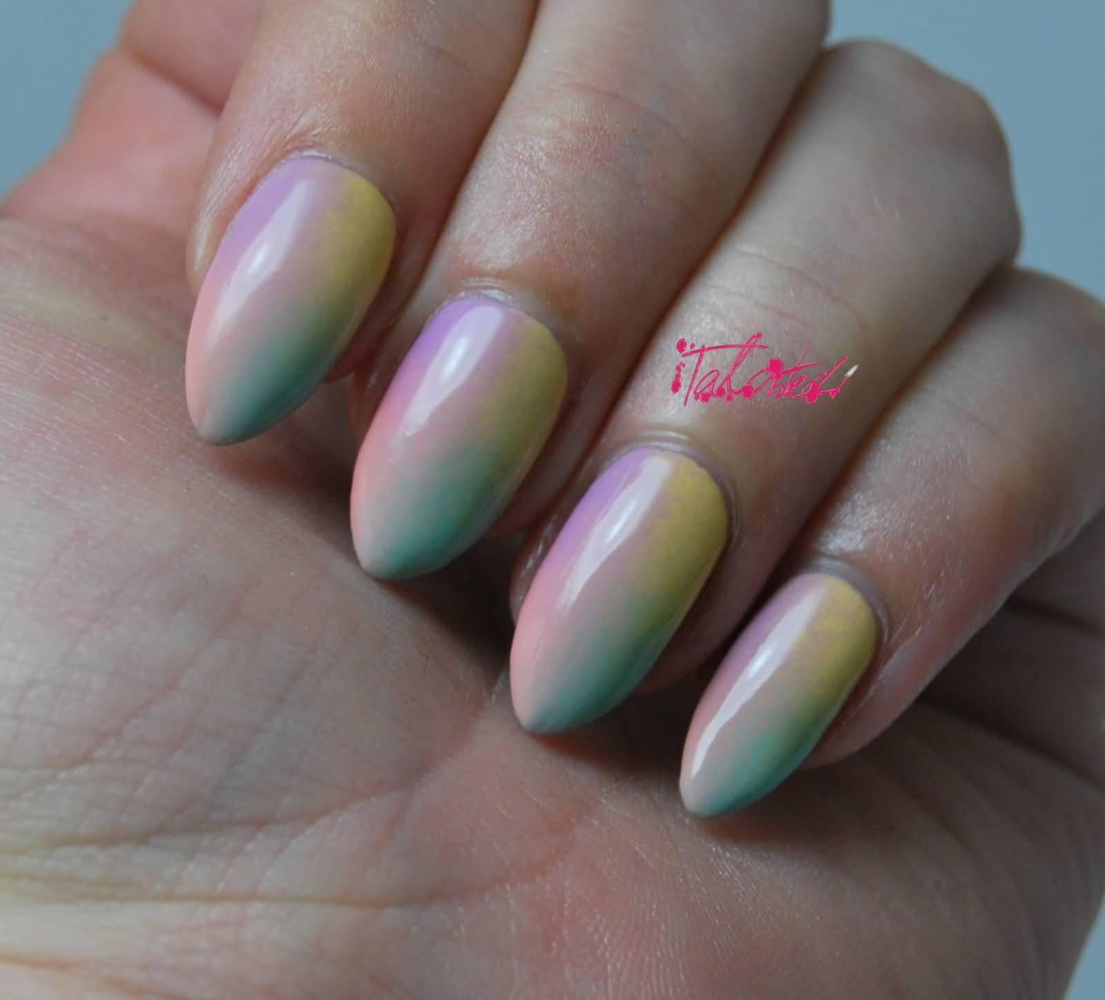 Gradient Nail Art: 55+ Most Stylish Gradient Nail Art Ideas