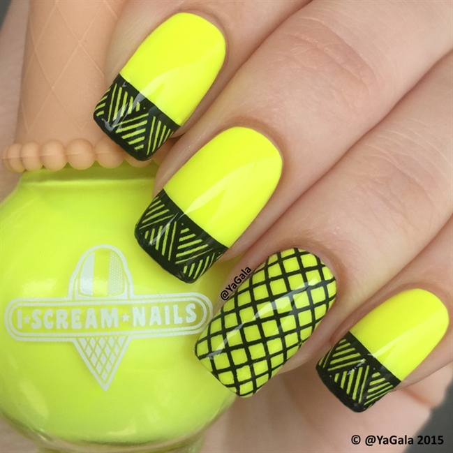 Neon Yellow Nail Designs | Graham Reid