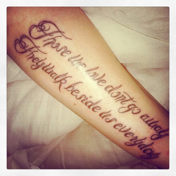Tattoo Quotes Memories: 50+ Latest Remembrance Tattoos